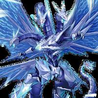 Trishula, the Ice Prison Dragon by coccvo
