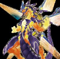 Galaxy-Eyes Sol Flare Dragon by coccvo
