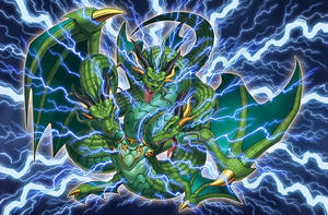 Thunder Dragon Lord [Full Artwork] by coccvo