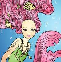 Mermaid Love  by zemygreywolf