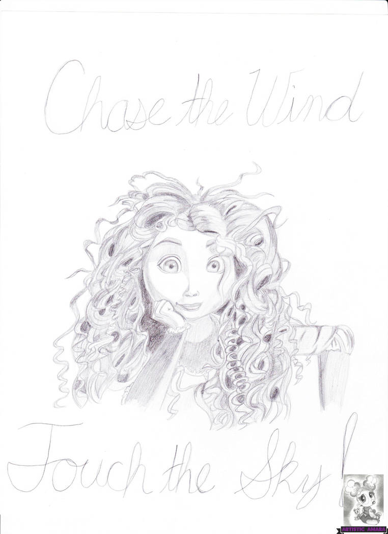 My Merida Drawing by SolaSista94