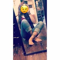Barefoot selfie by mickey515