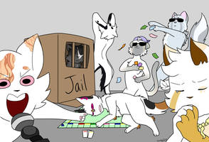 VW monopoly draw the squad by maddy323
