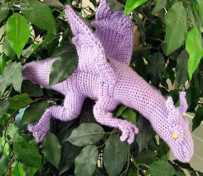 Lockheed Dragon Plushy by sunhawk