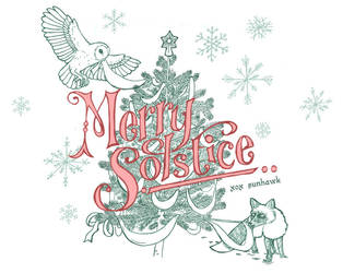 Merry Winter Solstice by sunhawk