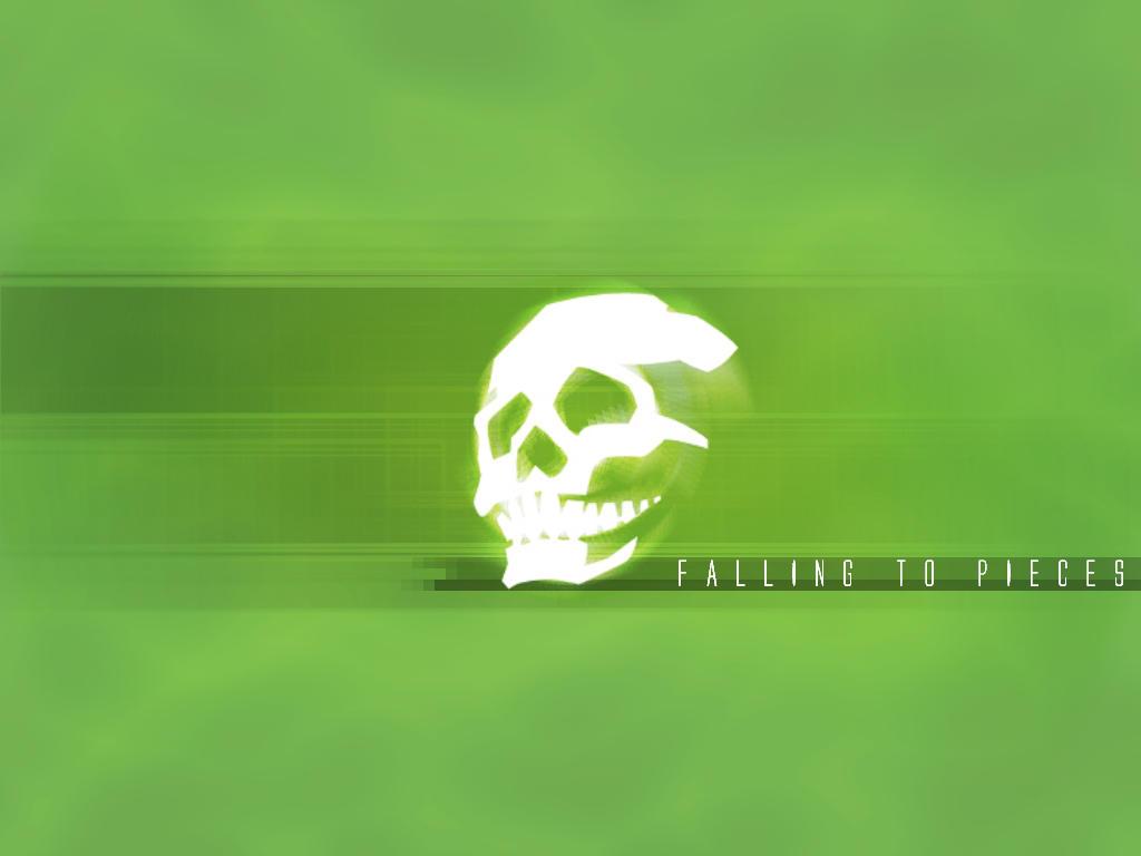 skullsticker green by 10r