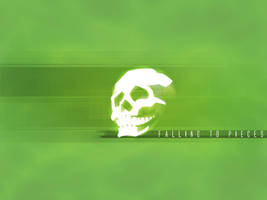 skullsticker green by 10r