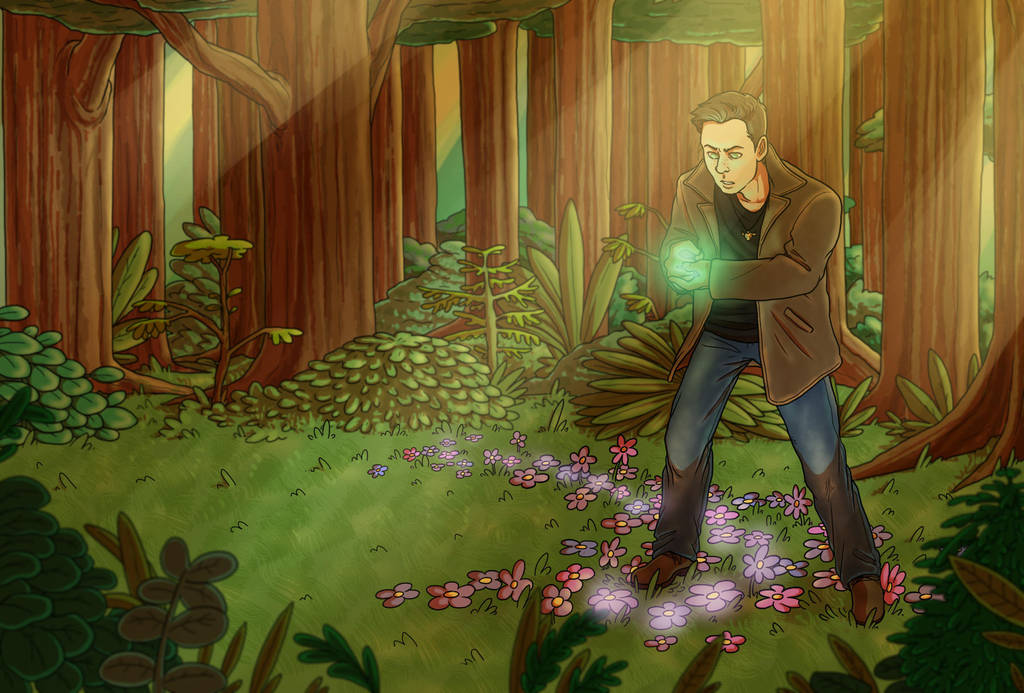 Dean In The Forest by nightmares06
