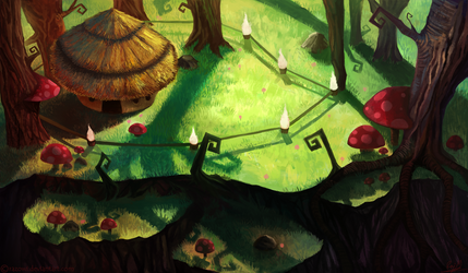 The Estranged Hut by Razowi