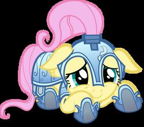 Cute, little GladiatorShy by Dharthez