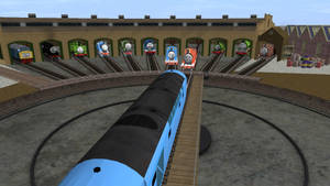 James and Thomas way to see a liar - Promo shot by nascarruler391