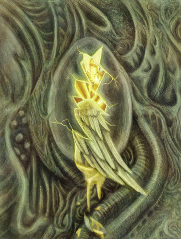 The Angel Egg by raerae
