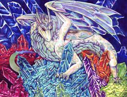 Crystal Dragon by raerae