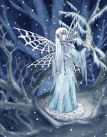 Winter Faerie by raerae