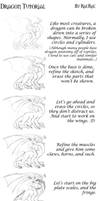 Dragon Tutorial by raerae