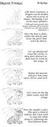 Dragon Tutorial by raerae
