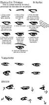 Manga Eye Tutorial by raerae