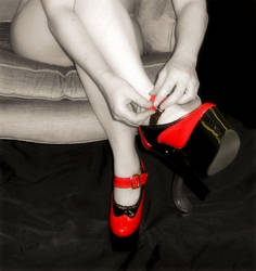 Red Shoes by RTKraken
