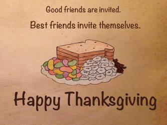 Happy Thanksgiving! by DarkAcey