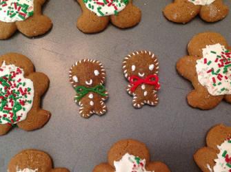 Gingerbread Boys by DarkAcey