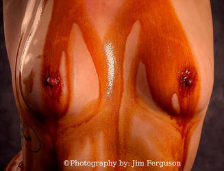 Two oily nipples by FergieFoto