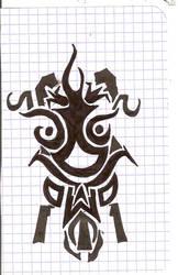 Tiki Mask Guy by Lokified
