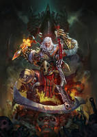 Diablo 3 barbarian Contest by largee17