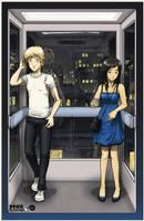 Elevator Love Letter by Usagisama