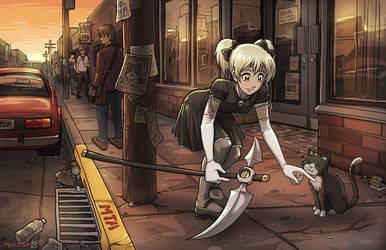 Here Kitty by Usagisama