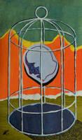 Birdcage  (for sale) by DawidZdobylak