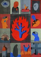 Iconostasis II COLLAGE by DawidZdobylak