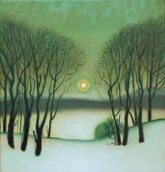 Winter landscape by DawidZdobylak