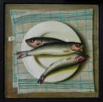 Still life with fish by DawidZdobylak