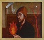 Fire walk with me by DawidZdobylak