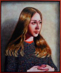 Portrait of Kasia by DawidZdobylak