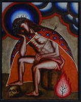 Pensive Christ by DawidZdobylak