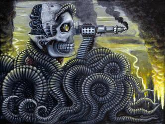MACHINE GUN FACE by RSConnett