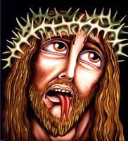 FORK TONGUE JESUS by RSConnett
