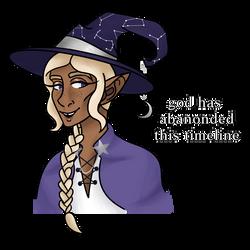 Idiot Wizard Man by QueenPeaceKitty