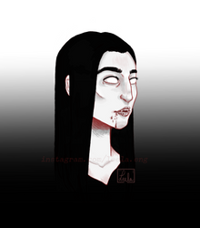 Vampire gal by LeelaEng