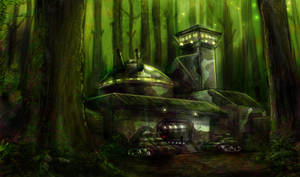 Forest Base by CelebrenIthil
