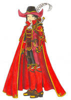 Female Red Wizard by CelebrenIthil