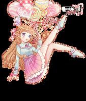 Candy Girl Render by Natsi90