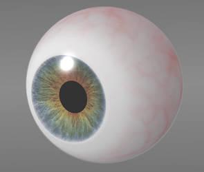 3d eye by unit-35