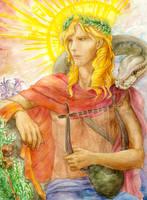 Pythian Apollo by Boolsajo