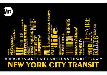 Transit Poster by bdechantal
