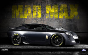 Mad Max V8 by phareck by FutureMuscleCars