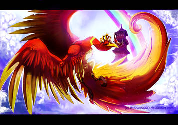 Ho-oh by Ink-Leviathan