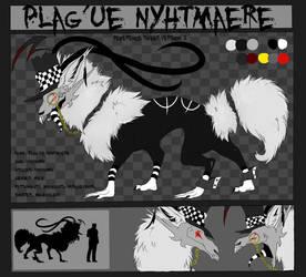 (OLD) Plag'ue Nyhtmaere Reference Sheet V.2 by Ink-Leviathan