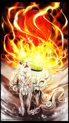 PC: Zodrow15 - Okami Amaterasu by Ink-Leviathan